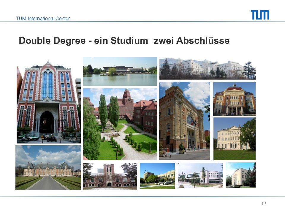 TUM International Center Double Degree - ein Studium zwei Abschlüsse 13