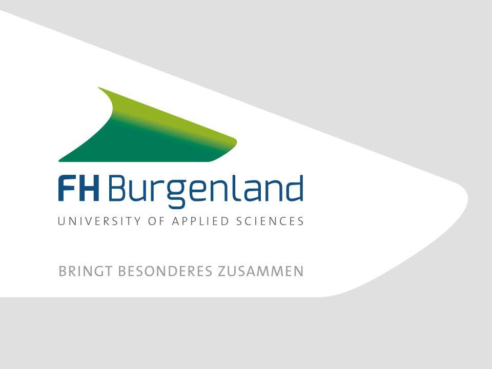 Die FH Burgenland ist der ideale Standort für Wachstum.