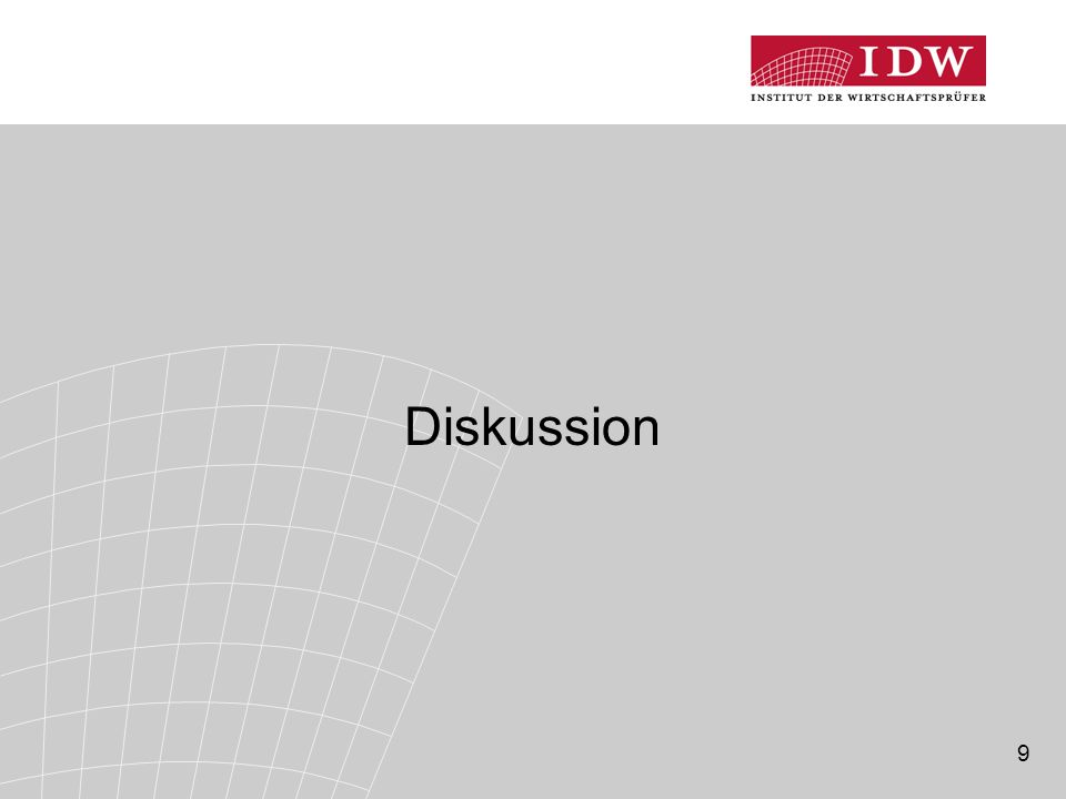 9 Diskussion