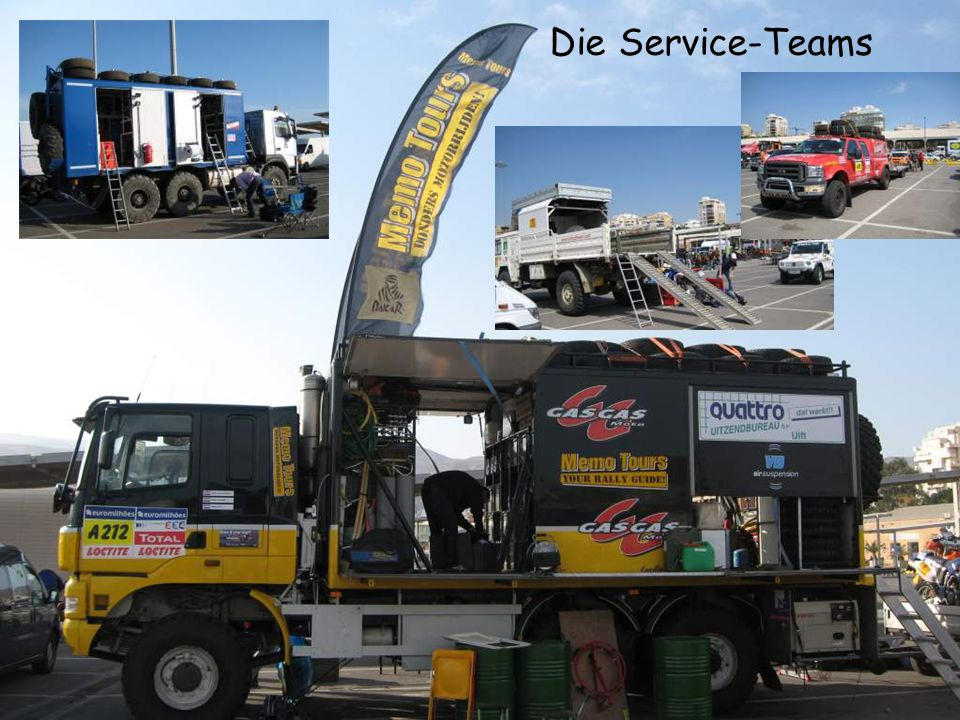 Die Service-Teams