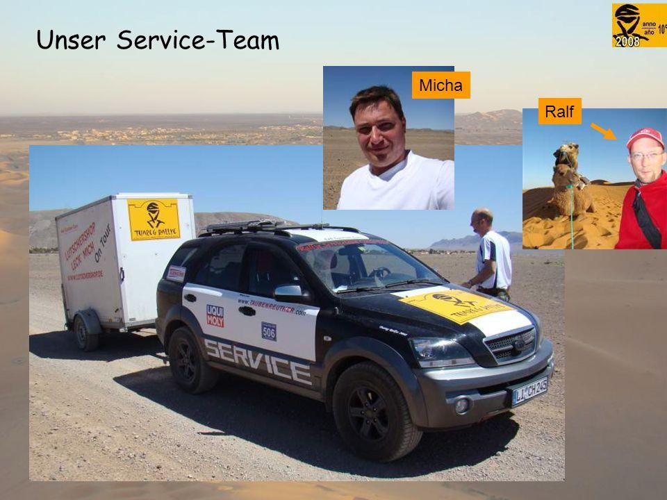 Unser Service-Team Micha Ralf