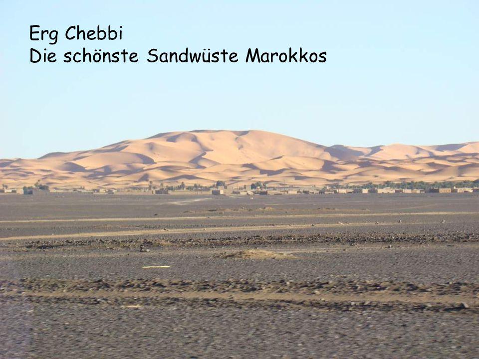 Erg Chebbi Die schönste Sandwüste Marokkos
