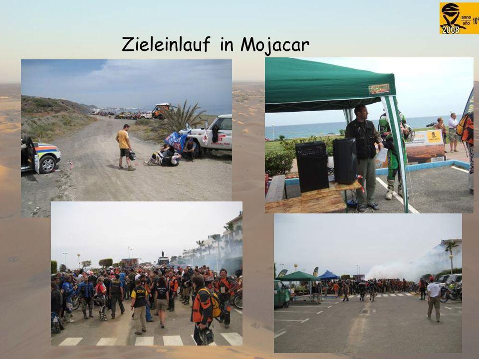 Zieleinlauf in Mojacar