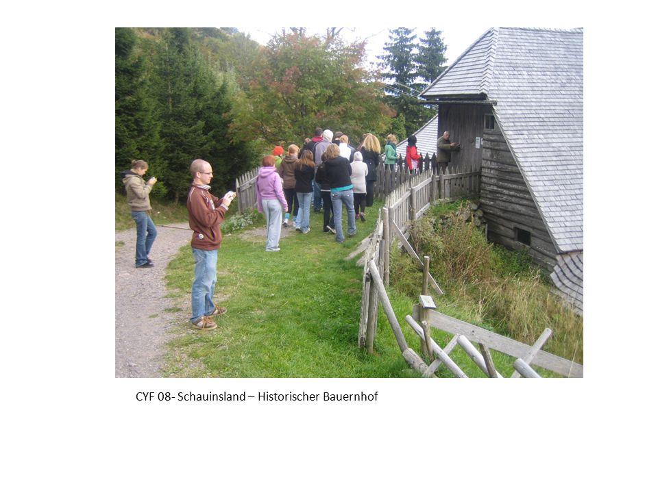 CYF 08- Schauinsland – Historischer Bauernhof