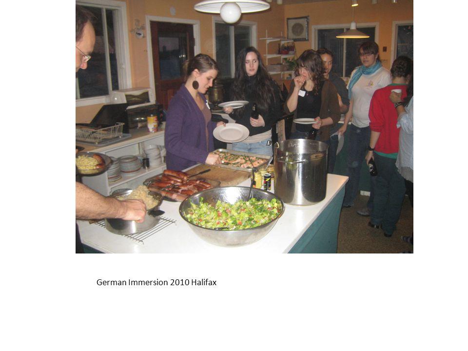 German Immersion 2008? – Schnitzelhaus – New Brunswick