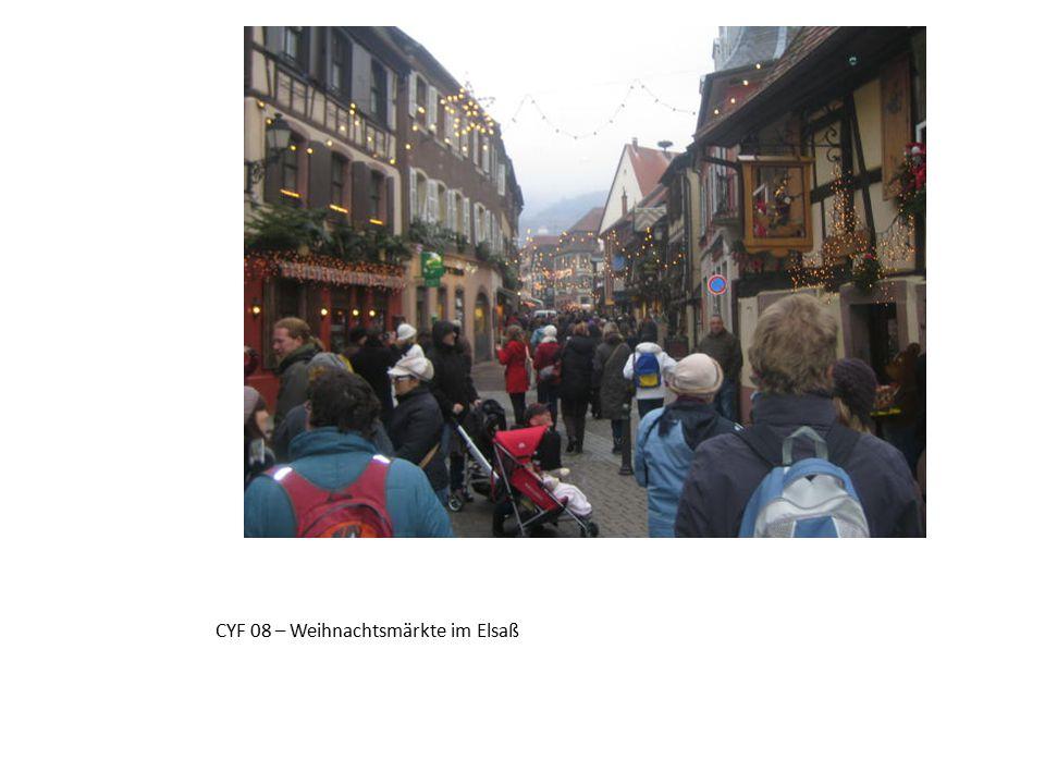 CYF 08 – Weihnachtsmärkte im Elsaß