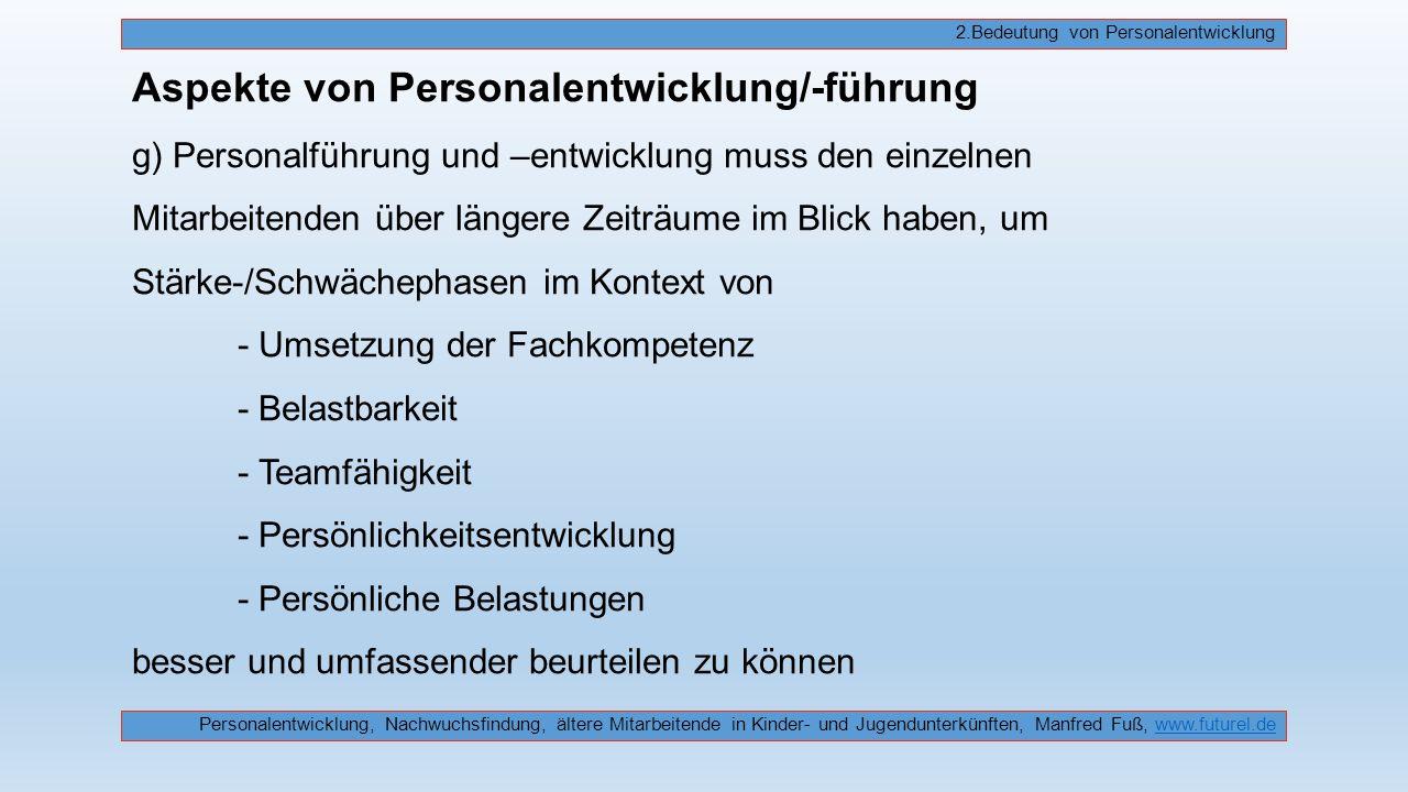 1.Stellenwert der Mitarbeitenden in Jugendunterkünften√ 2.