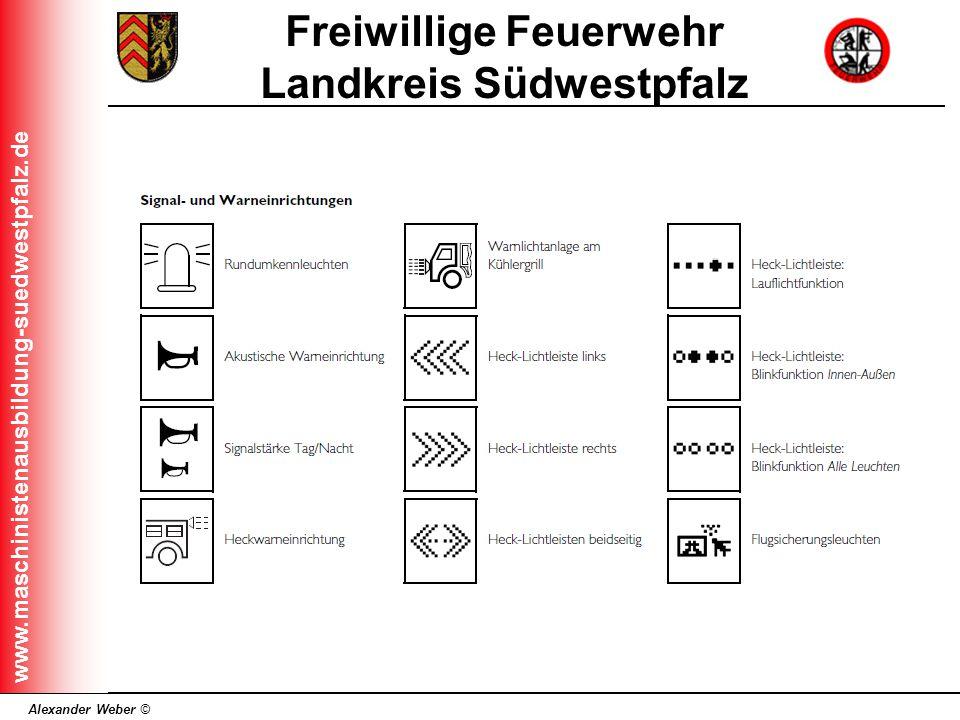 Alexander Weber © Freiwillige Feuerwehr Landkreis Südwestpfalz www.maschinistenausbildung-suedwestpfalz.de