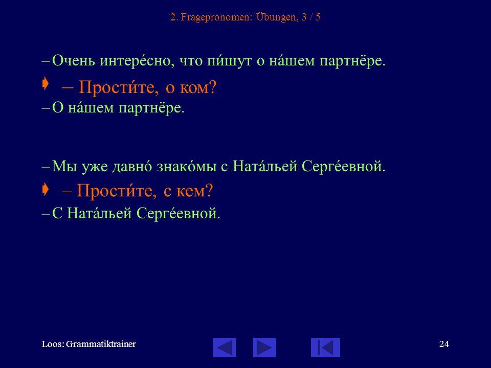 Loos: Grammatiktrainer24 2.