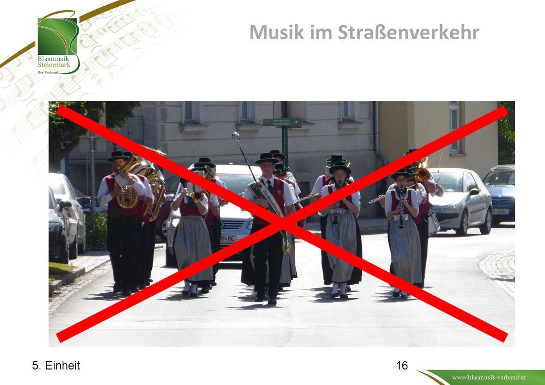 Musik im Straßenverkehr 5. Einheit16