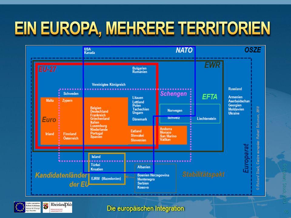 © Richard Stock, 2013 46 Die europäischen Integration