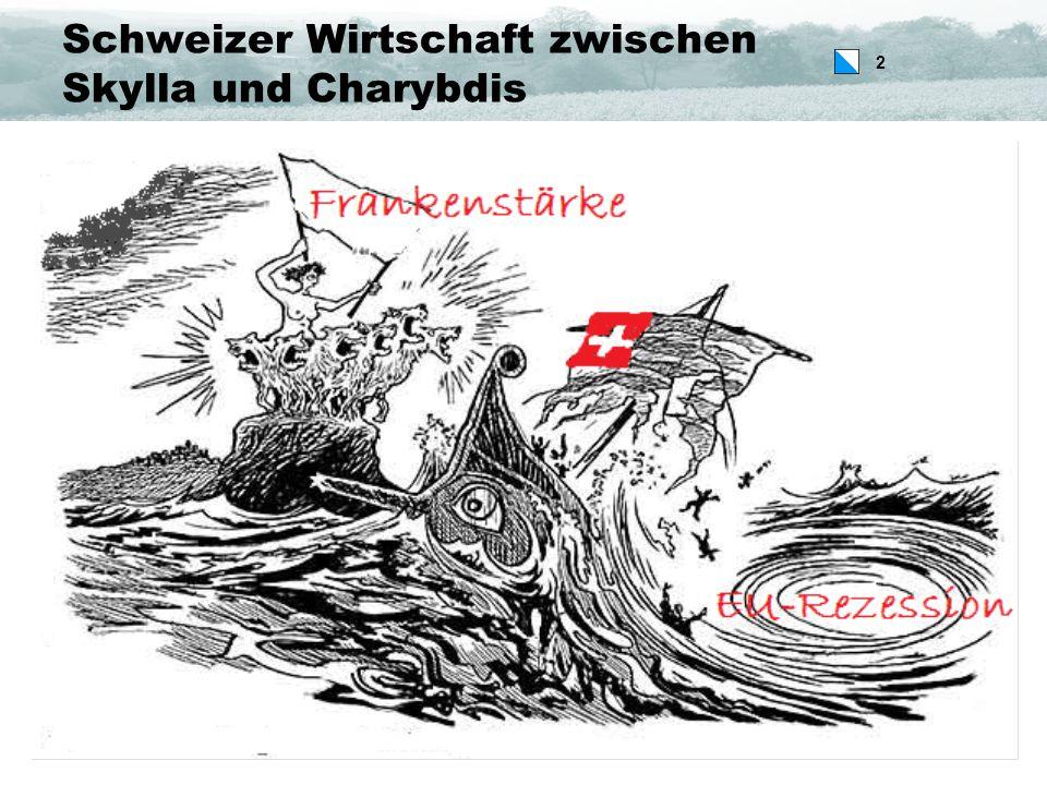 2 Schweizer Wirtschaft zwischen Skylla und Charybdis