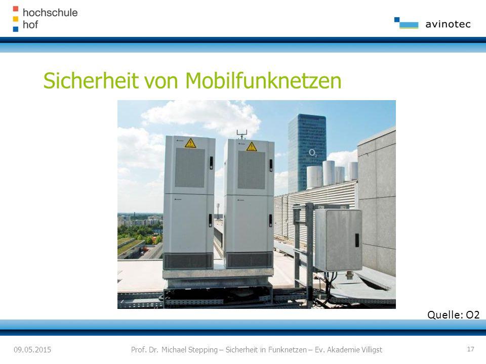 09.05.2015 Sicherheit von Mobilfunknetzen Prof.Dr.