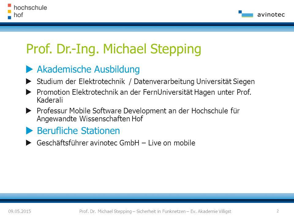  Akademische Ausbildung  Studium der Elektrotechnik / Datenverarbeitung Universität Siegen  Promotion Elektrotechnik an der FernUniversität Hagen unter Prof.