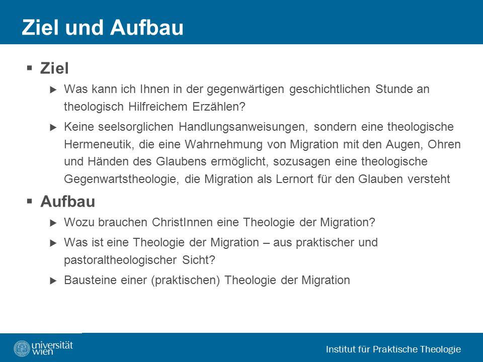 Institut für Praktische Theologie  Workshop  Hermeneutische Vertiefung: Welche Fragen sind offen geblieben.
