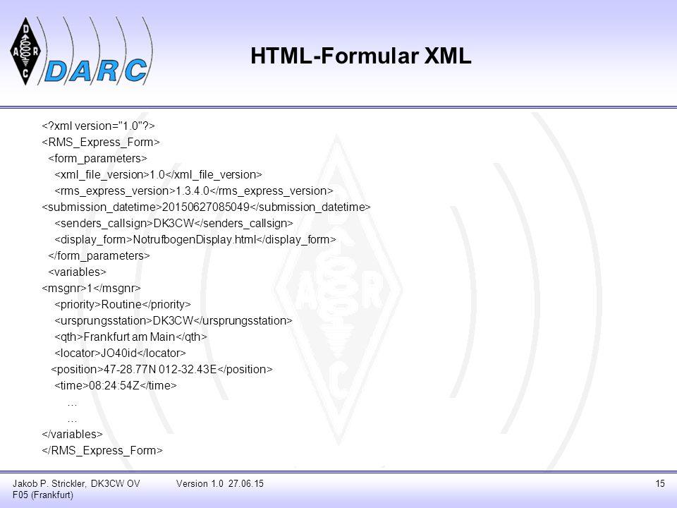 HTML-Formular XML 1.0 1.3.4.0 20150627085049 DK3CW NotrufbogenDisplay.html 1 Routine DK3CW Frankfurt am Main JO40id 47-28.77N 012-32.43E 08:24:54Z … J