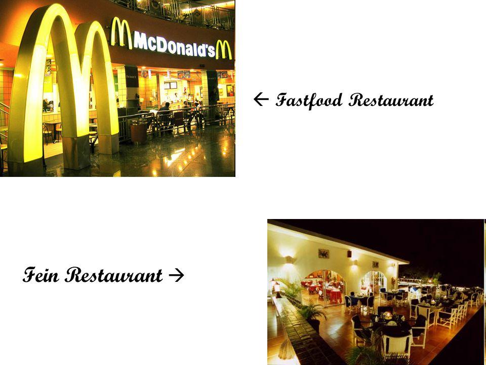Fein Restaurant   Fastfood Restaurant