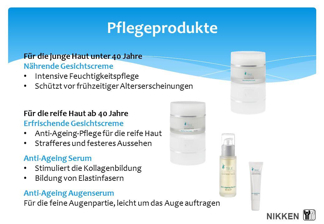 Pflegeprodukte Für die junge Haut unter 40 Jahre Nährende Gesichtscreme Intensive Feuchtigkeitspflege Schützt vor frühzeitiger Alterserscheinungen Für