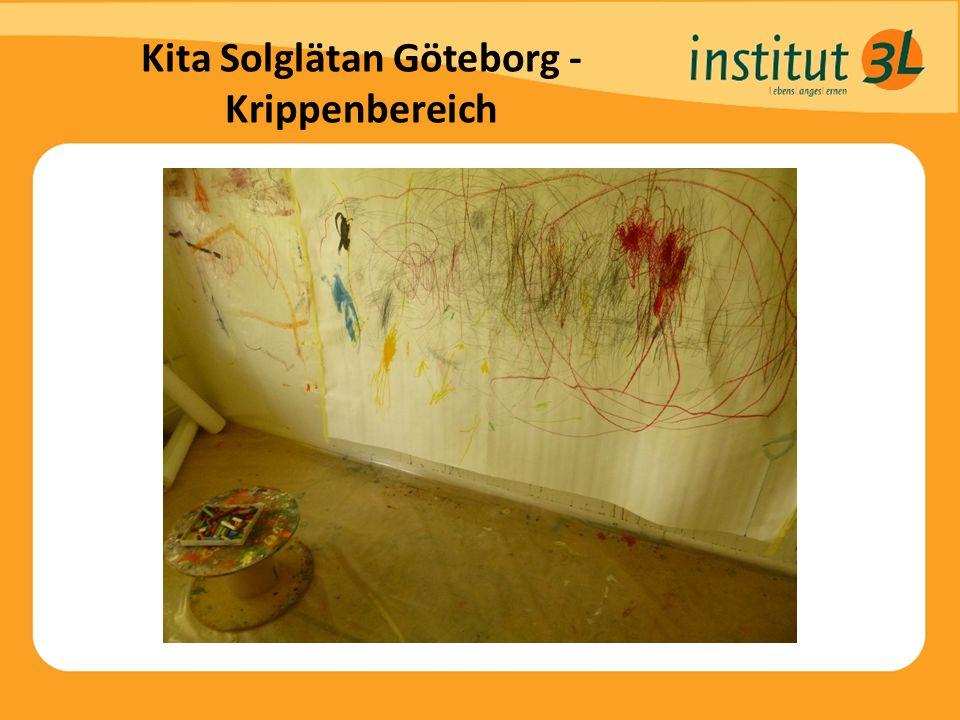 Kita Solglätan Göteborg - Krippenbereich