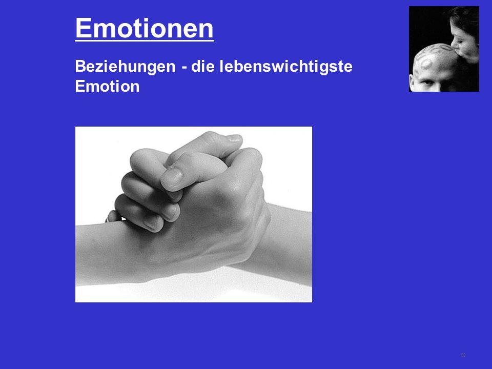 68 Emotionen Beziehungen - die lebenswichtigste Emotion
