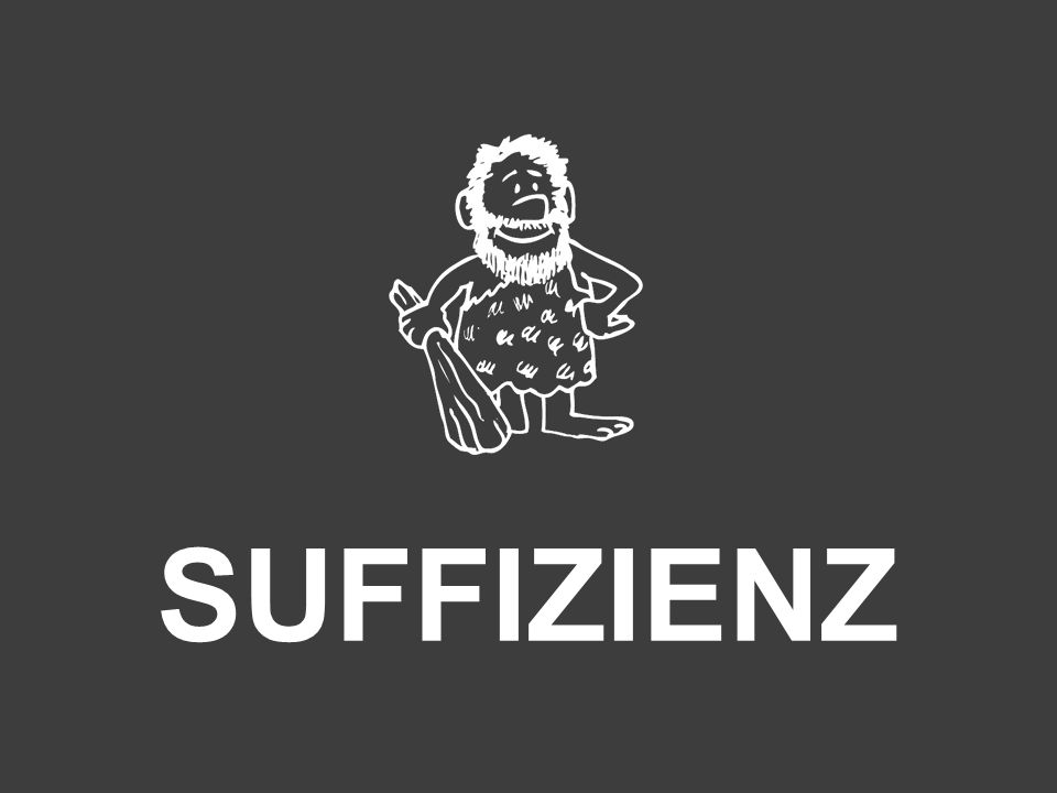 SUFFIZIENZ