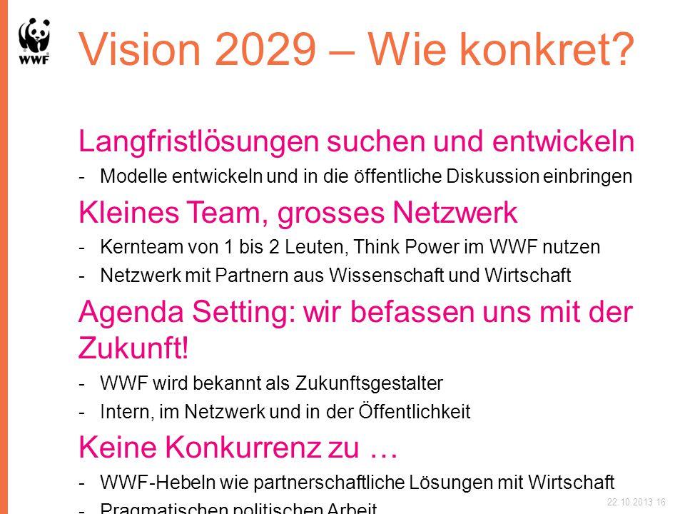 Vision 2029 – Wie konkret.