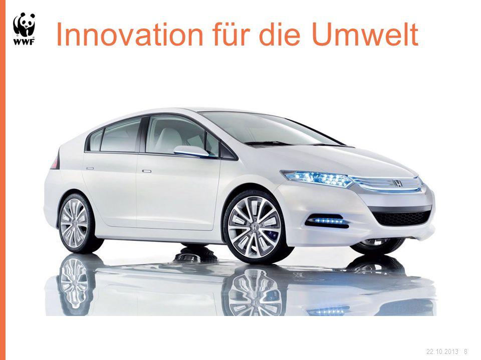 Innovation für die Umwelt nutzen 22.10.20138