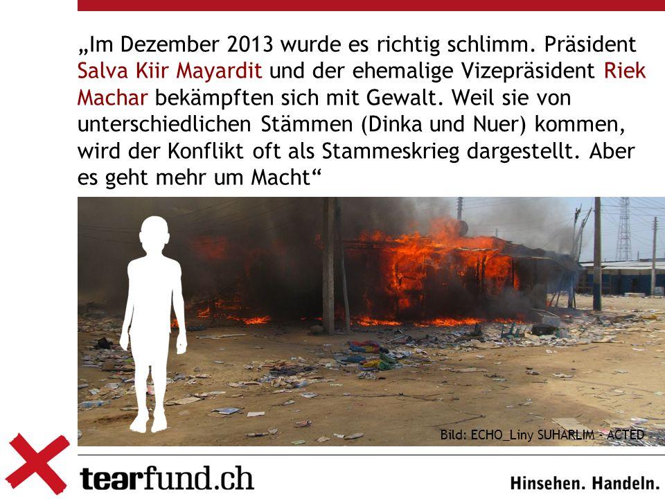 """Bild: ECHO_Liny SUHARLIM - ACTED """"Im Dezember 2013 wurde es richtig schlimm."""