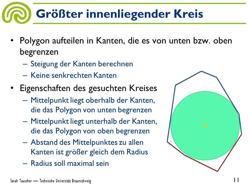 Polygon aufteilen in Kanten, die es von unten bzw.