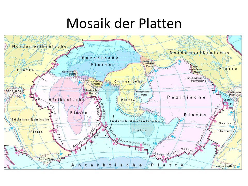 Mosaik der Platten