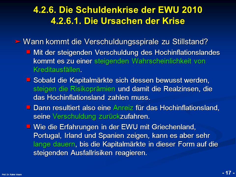 © RAINER MAURER, Pforzheim - 17 - Prof. Dr.
