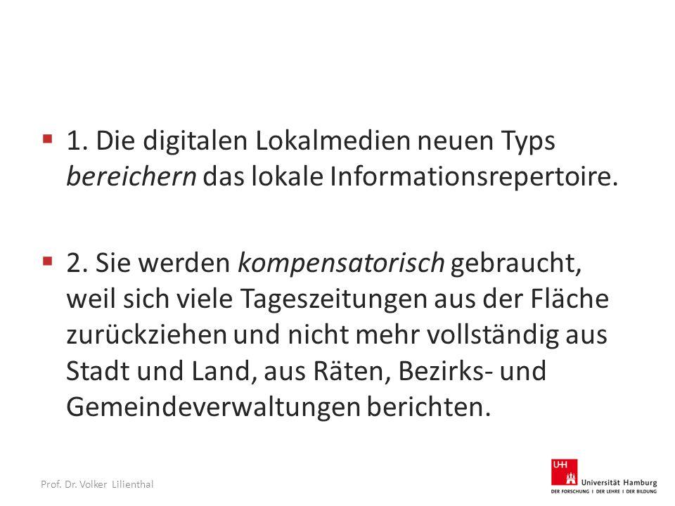 Prof. Dr. Volker Lilienthal  1.