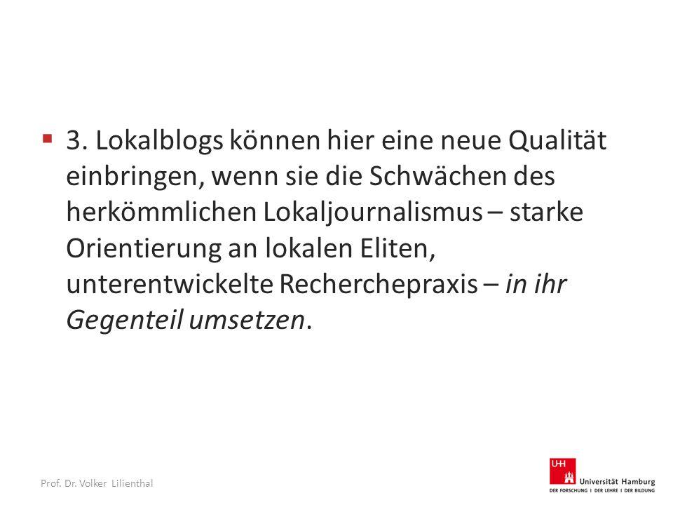 Prof. Dr. Volker Lilienthal  3.