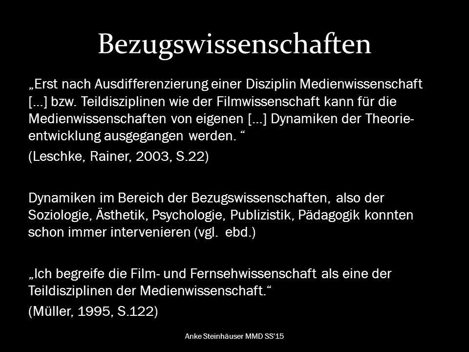 """Das Kuriose """"Jede Theorie über Medien ist maßgeblich beeinflusst von dem Medium, das zur Artikulation der Theorie verwendet wird. (Grampp, 2016) Anke Steinhäuser MMD SS 15"""