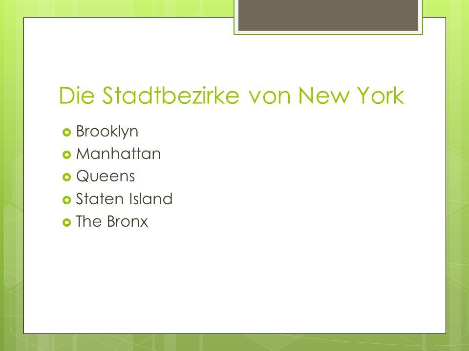 Wirtschaft und Infrastruktur  New York ist einer der bedeutendsten Wirtschaftsräume weltweit und zählt neben London und Tokio zu den größten Finanzplätzen der Welt.