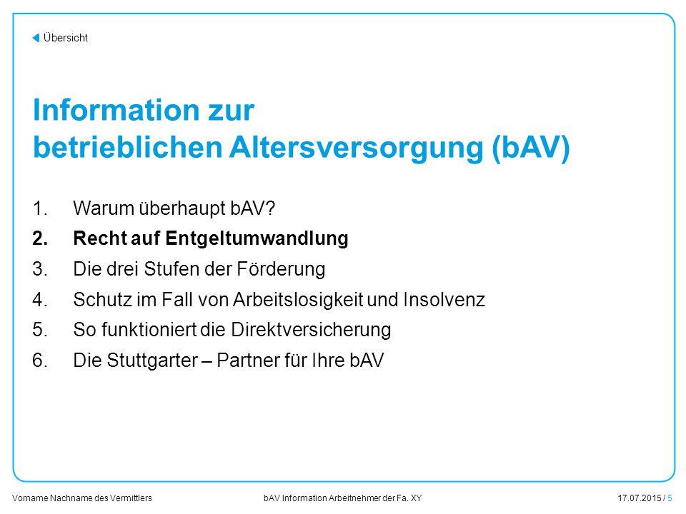 Fragen & Wünsche zur bAV in Ihrem und für Ihr Unternehmen.