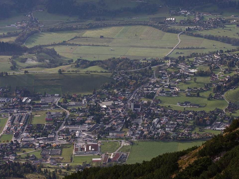 Gröbming gehört zur UNESCO-Welterbestätte Kulturlandschaft Hallstatt– Dachstein/Salzkammergut.