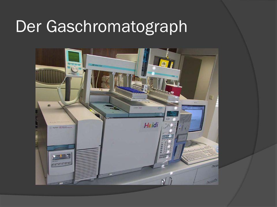 Kurzbeschreibung  Die Gaschromatographie ist eine sehr wirksame Methode zur Trennung und Identifizierung von organischen Verbindungen.
