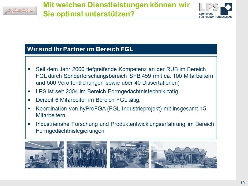 11 Gebäude IC 02 / 677 Universitätsstraße 150 44801 Bochum Lehrstuhl für Produktionssysteme Ruhr-Universität Bochum Kontakt Benjamin Fleczok, M.Sc.