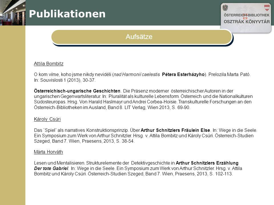 """Publikationen Aufsätze Judit Szabó """"Dort auf dem Schiff fahre ich davon ."""