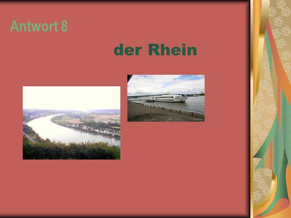 Antwort 8 der Rhein