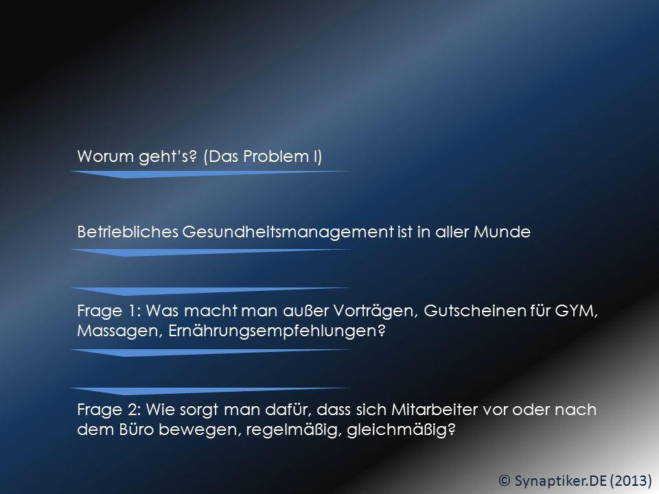 © Synaptiker.DE (2013) Am BIKE-BUILDING-DAY vielleicht auch bemalt... DANN:... seid IHR dran