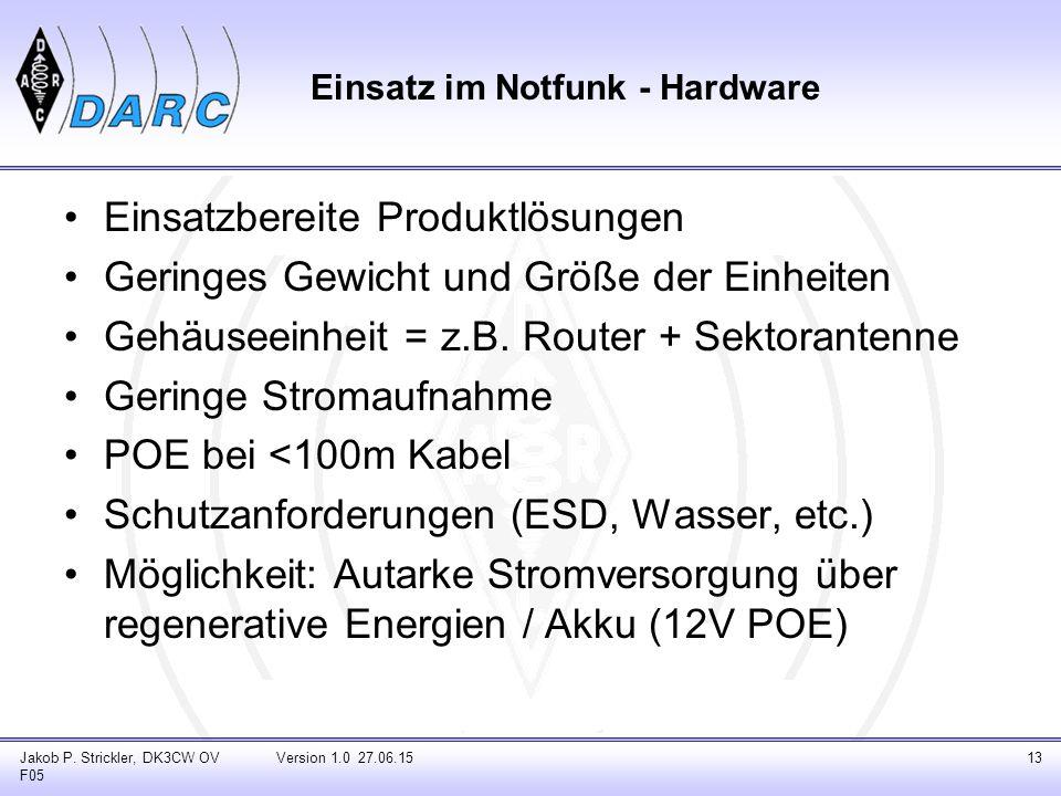 Einsatzbereite Produktlösungen Geringes Gewicht und Größe der Einheiten Gehäuseeinheit = z.B.