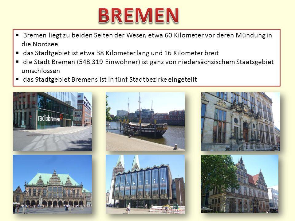 Die Stadt Bremen ist über 1200 Jahre alt.Am Anfang regierte ein Bischof die Stadt.