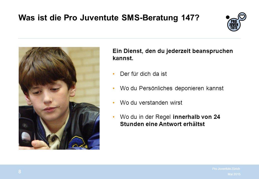 Was ist die Pro Juventute SMS-Beratung 147.