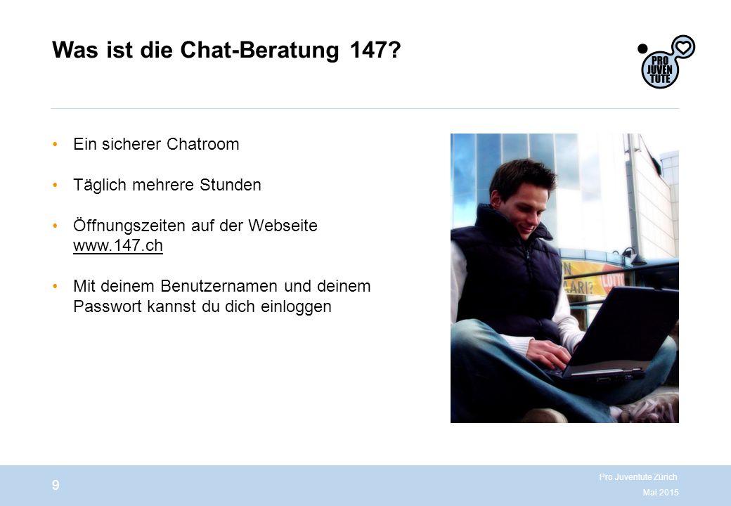 Was ist die Chat-Beratung 147.