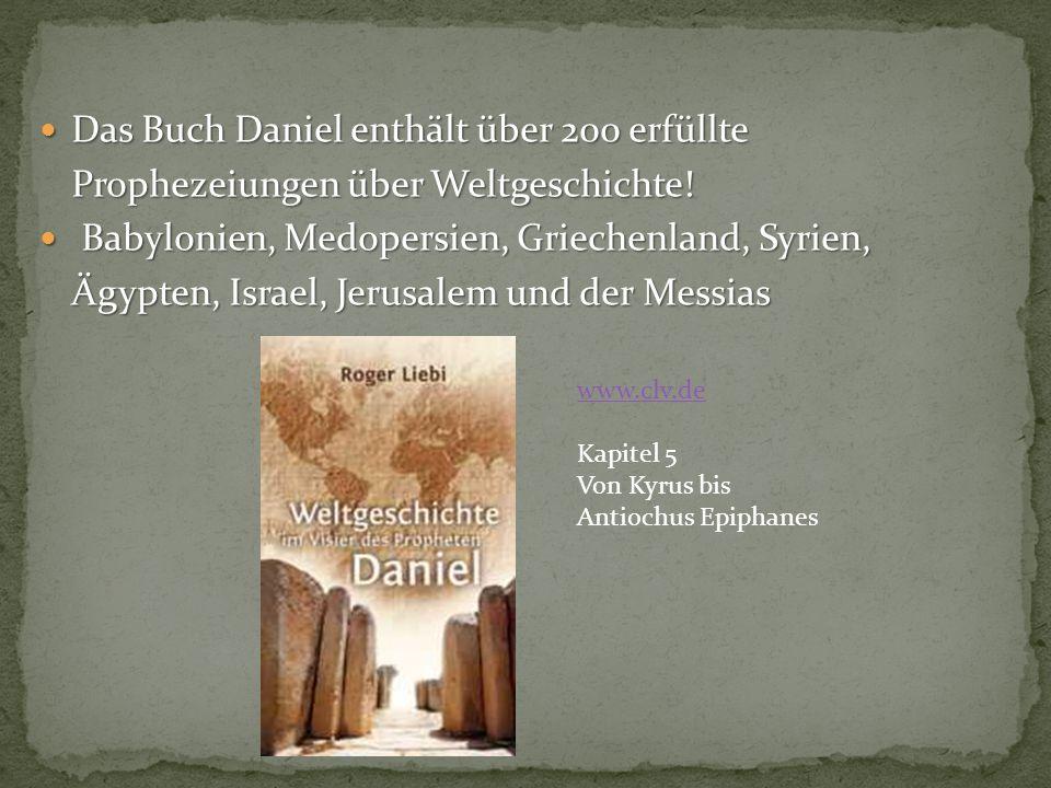 Dan 11,1-35: Prophetie über die Zeit von Kyros (537 v.