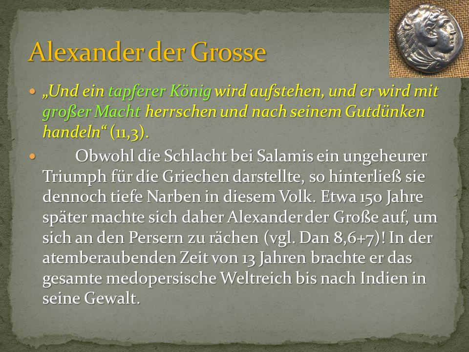 Wolfgang Meinhart, Hamburg GNU 1.2 orlater Alexander der Grosse (336 – 323 v. Chr.)