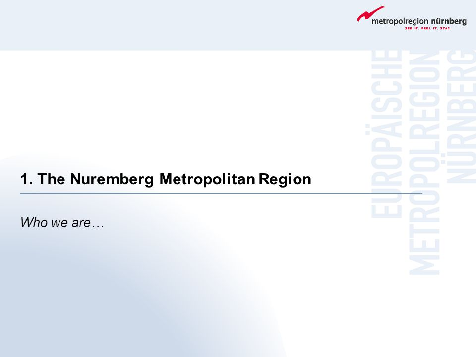 Brochure A Home for Creative Minds Comprising information about the Nuremberg Metropolitan Region and current projects.