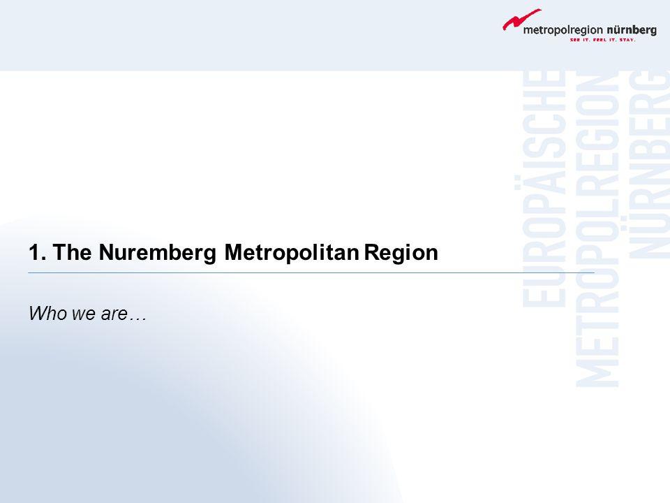 1. The Nuremberg Metropolitan Region Who we are…